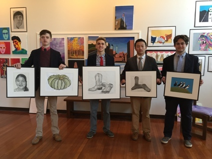 HGP students were featured at Bucks County High School Art Exhibit