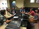 HGP was spotlighted on area high school sports radio show