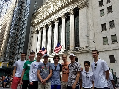 Holy Ghost Prep students on Wall Street: Investing their time wisely